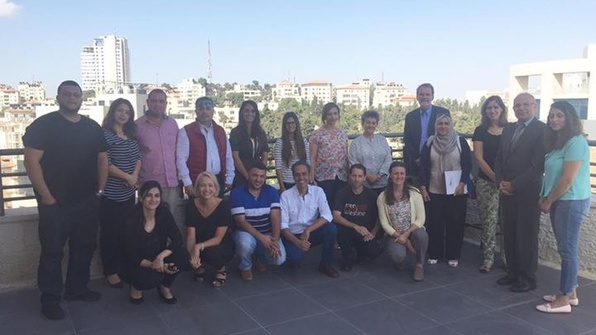 Monitoring and evaluation Palestine